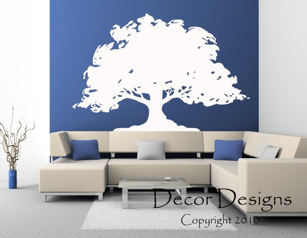 Huge Tree Vinyl Wall Decal Sticker. - Decor Designs Decals - 1