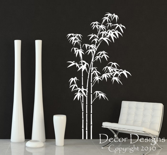 Large Bamboo Vinyl Wall Decal Sticker   Decor Designs Decals   1 ...
