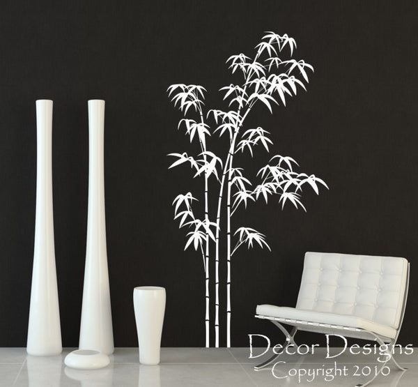 Large Bamboo Vinyl Wall Decal Sticker - Decor Designs Decals - 1