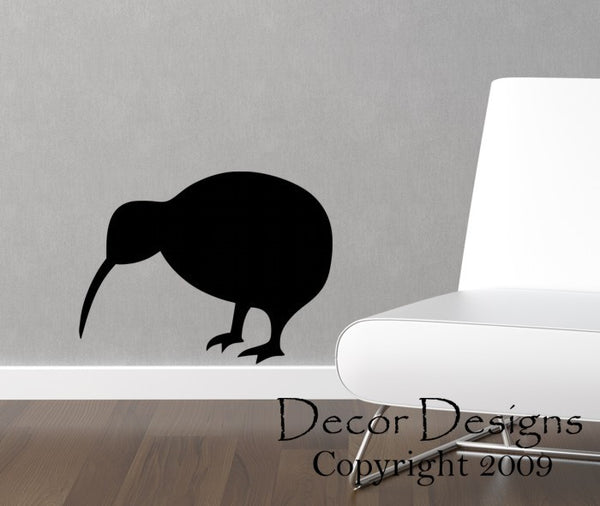 Kiwi Bird Vinyl Wall Decal Sticker - Decor Designs Decals - 1