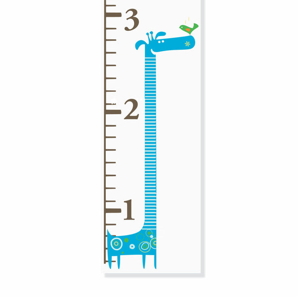 Giraffe Canvas Growth Chart - Decor Designs Decals - 1