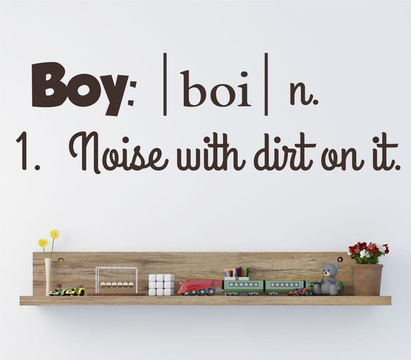 Boy Definition Wall Decal - Decor Designs Decals - 1