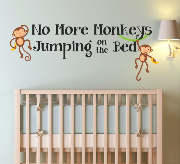 Monkey Wall Decal - Decor Designs Decals - 1