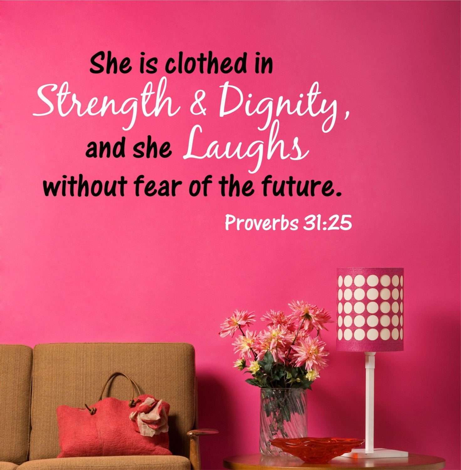 Bible Verse Wall Decal   Decor Designs Decals   1