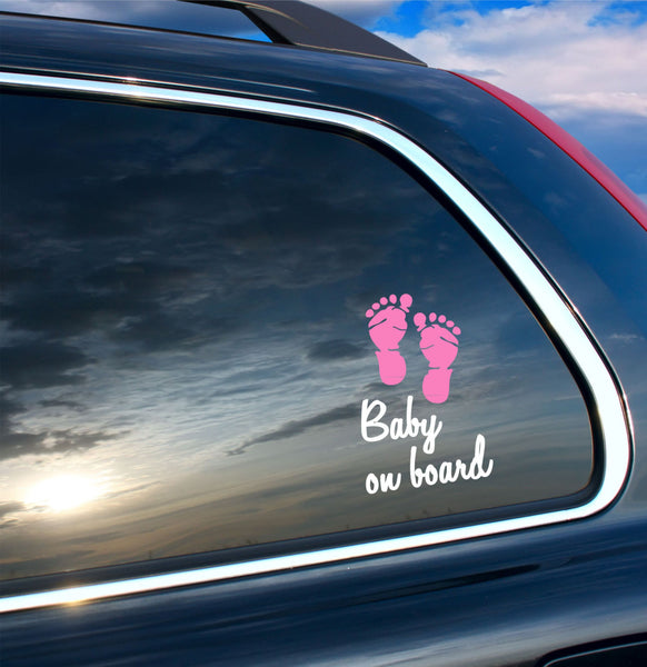 Baby on Board Car Decal - Decor Designs Decals - 1