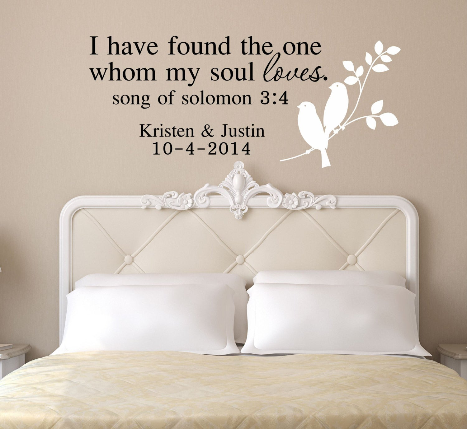 I have found the one whom my soul loves by decor designs decals i ha i have found the one whom my soul loves by decor designs decals i amipublicfo Images