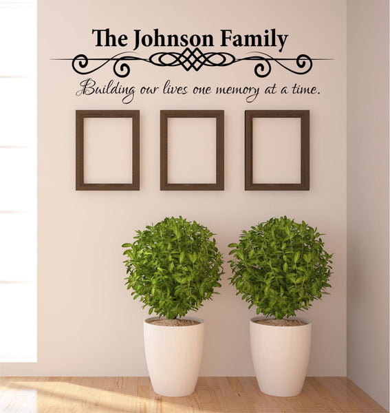 Building Our Lives Wall Decal - Decor Designs Decals - 1