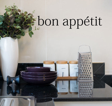 Bon Appétit Wall Decal - Decor Designs Decals - 1