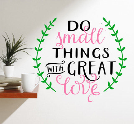 Love Quote Wall Decal - Decor Designs Decals - 1