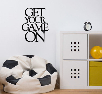 Get Your Game Wall Decal - Decor Designs Decals - 1