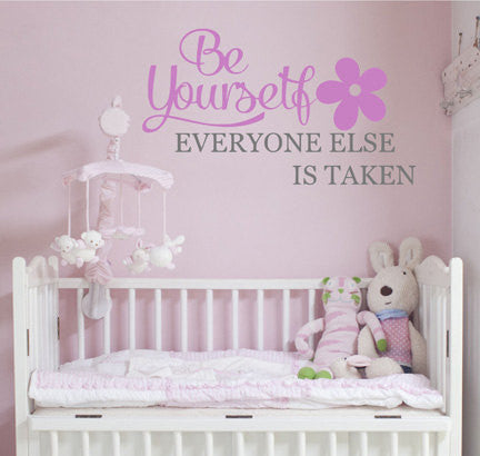 Be Yourself Wall Decal - Decor Designs Decals - 1