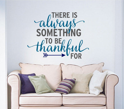 Be Thankful Wall Decal - Decor Designs Decals - 1