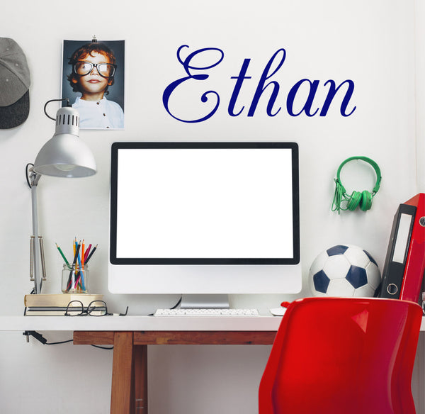 Boy's Name Wall Decal - Decor Designs Decals - 1