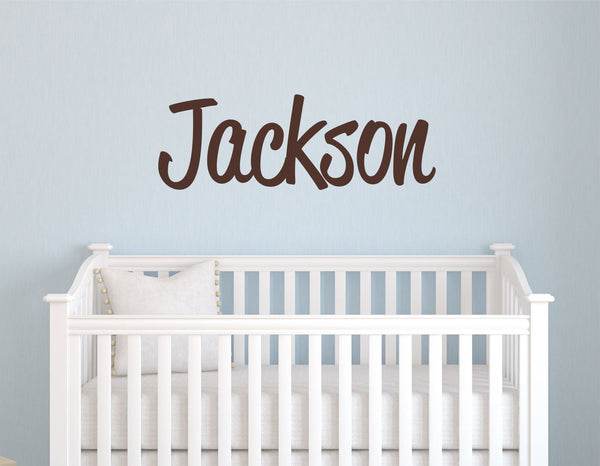 Boys Name Wall Decal - Decor Designs Decals - 1