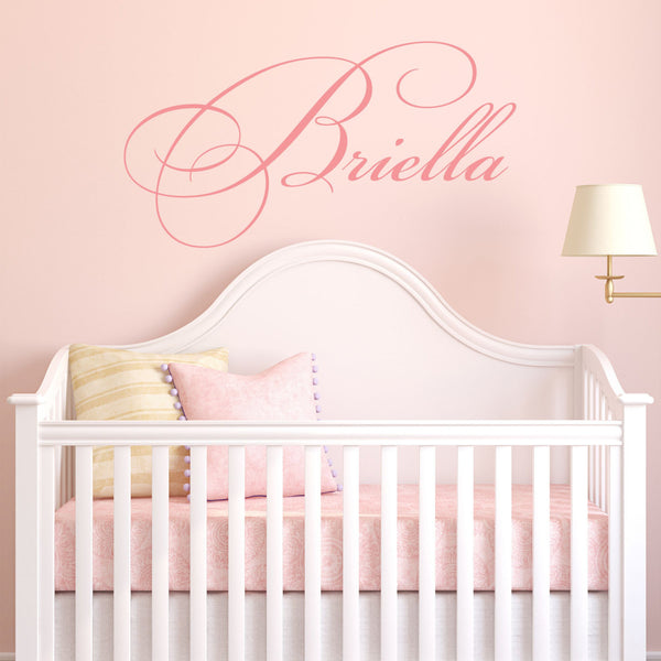 Cursive Name Wall Decal - Decor Designs Decals - 1