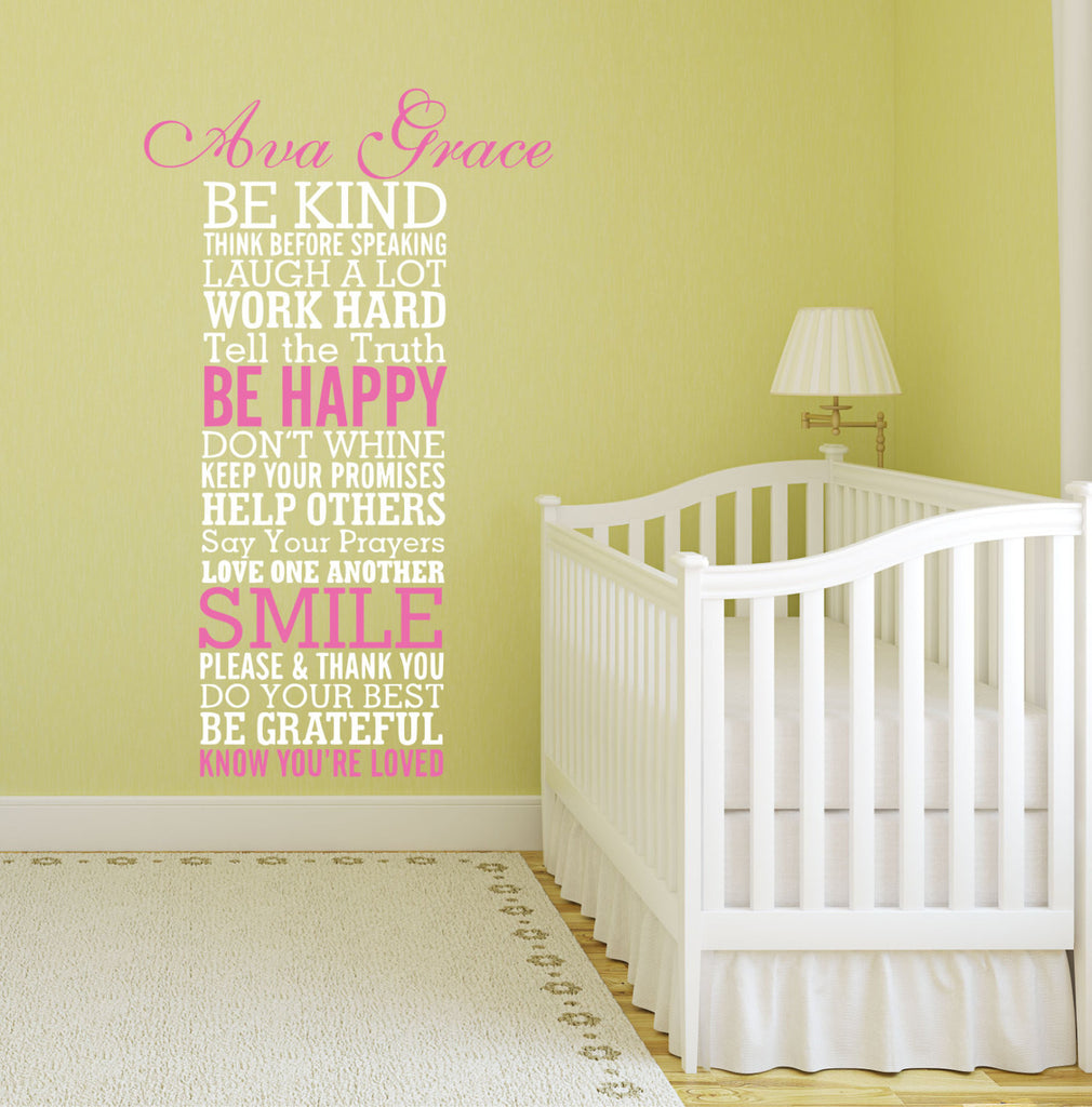 Be Kind Quote Wall Decal