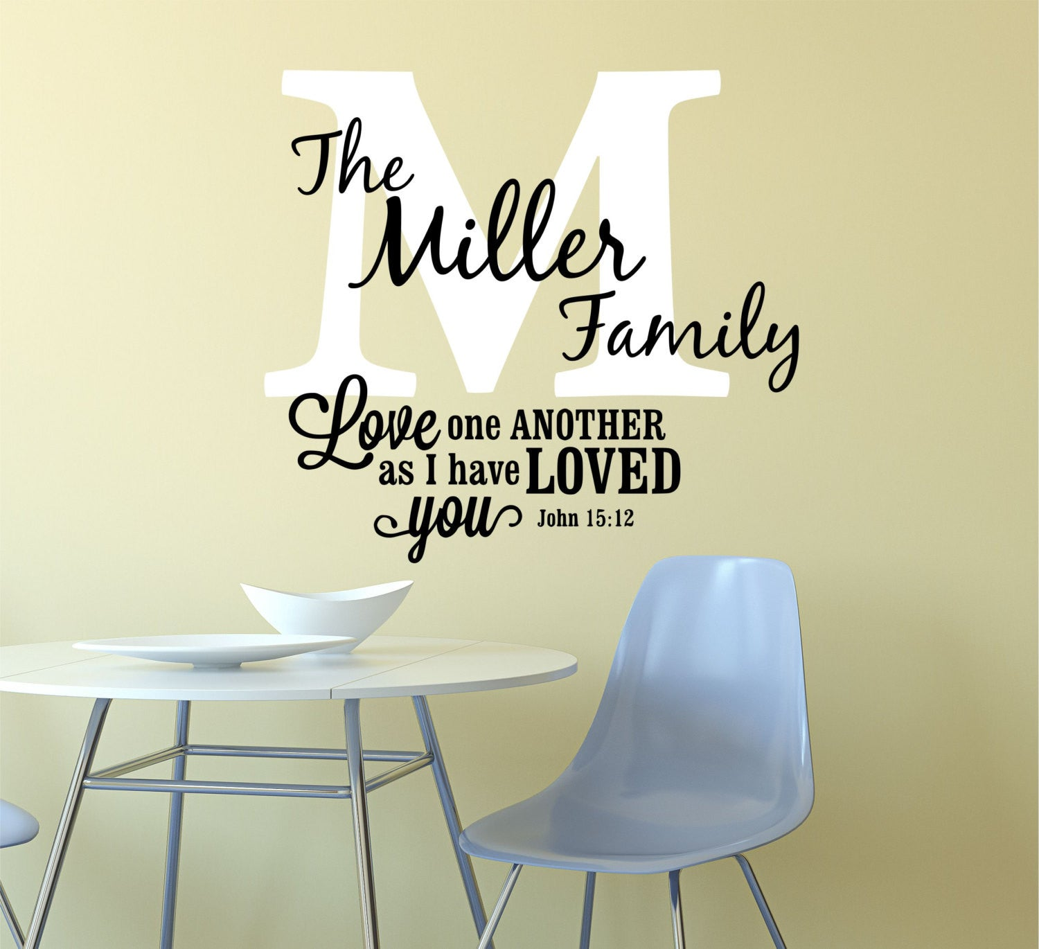 Wall Decals Quotes   By Decor Designs Decals, Christian Decal, Sticker, Christian  Wall