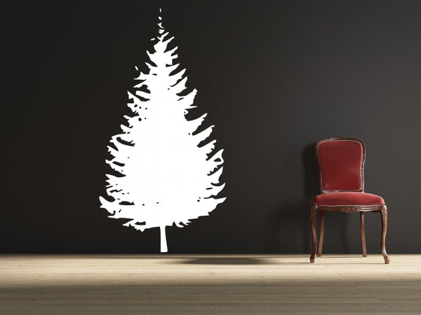 Huge Pine Tree Vinyl Wall Decal Sticker - Decor Designs Decals - 1