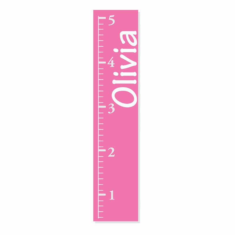 Pink Canvas Growth Chart