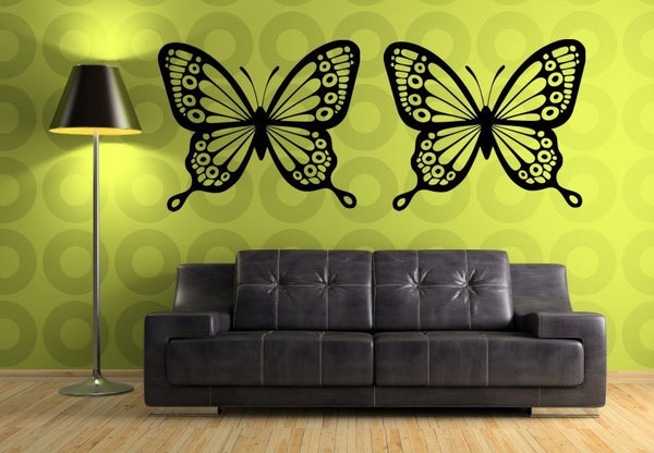 Double Butterflies Wall Decal - Decor Designs Decals - 1