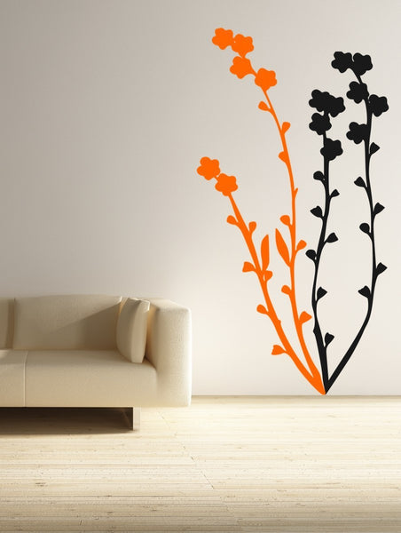 Flower Blossoms Vinyl Wall Decal Sticker - Decor Designs Decals - 1