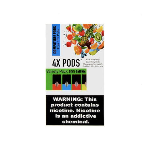 4X PODS - 4X Variety Pack BSMR 4 Pods - Drops of Vapor