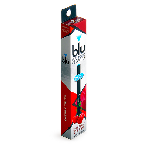 blu blu 2.4% nicotine Cherry Crush 1 eCIG Single - Drops of Vapor - 1