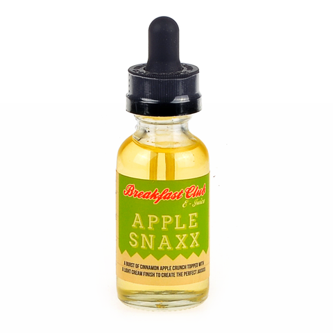 Breakfast Club - Apple Snaxx eLiquid - Drops of Vapor