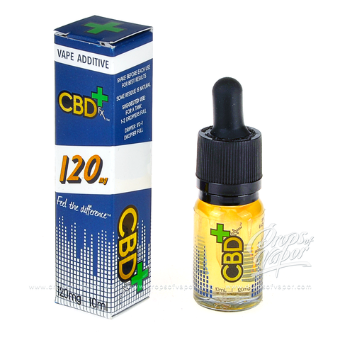 CBD FX+ CBD FX 120mg Vape Additive ELiquid - Drops of Vapor - 1