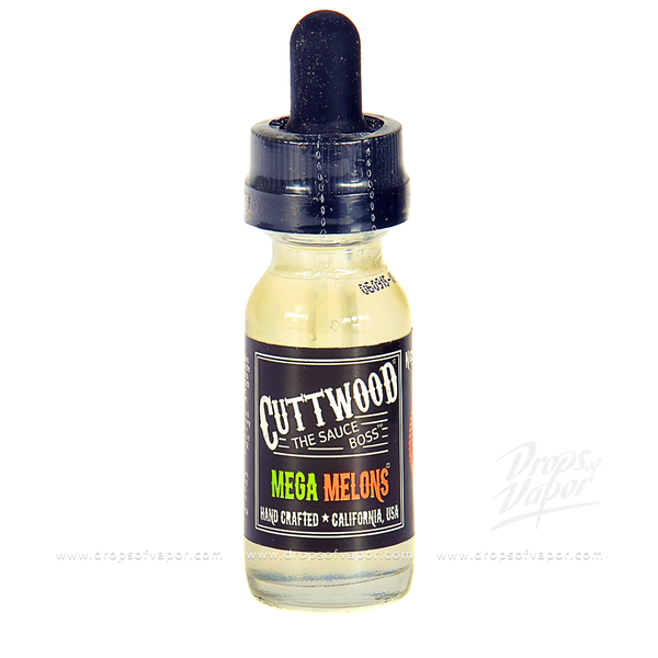 Cuttwood - Mega Melons eLiquid - Drops of Vapor