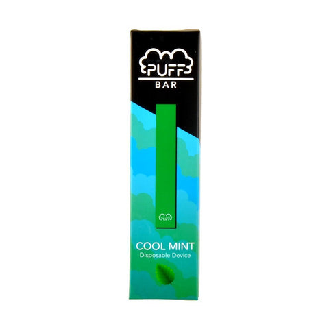 Puff - Puff Bar Disposable Pod Device Cool Mint - Drops of Vapor