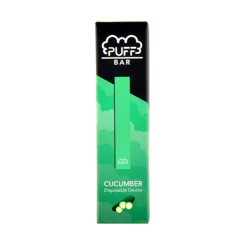 Puff - Puff Bar Disposable Pod Device Cucumber - Drops of Vapor