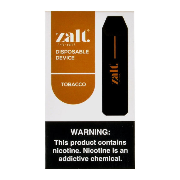 Zalt - Zalt 3 Disposable Pod Devices Tobacco - Drops of Vapor