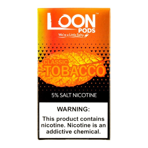 Loon Pods - Loon Pods Classic Tobacco 5 Pods - Drops of Vapor