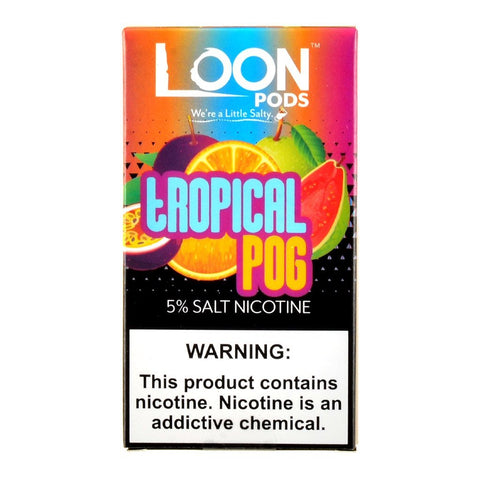 Loon Pods - Loon Pods Tropical Pog 5 Pods - Drops of Vapor