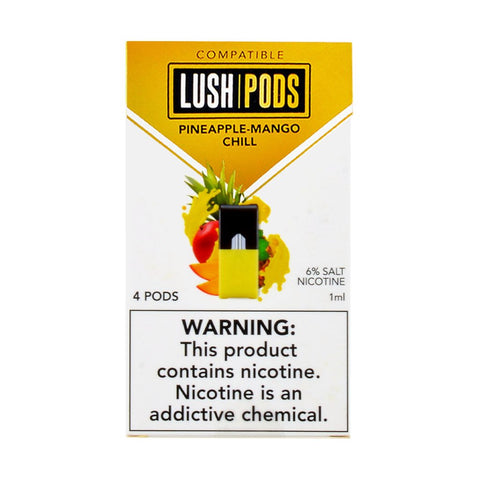 Lush Pods - Lush Pods Pineapple-Mango Chill Pack of 4 - Drops of Vapor