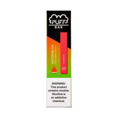 Puff - Puff Bar Disposable Pod Device Watermelon - Drops of Vapor