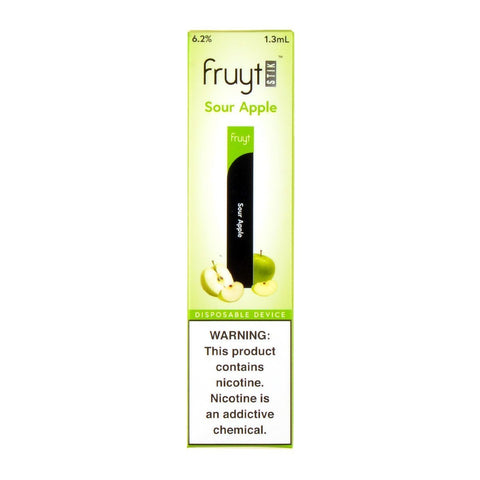 Fruyt Pods - Fruyt Stik Disposable Pen Sour Apple - Drops of Vapor