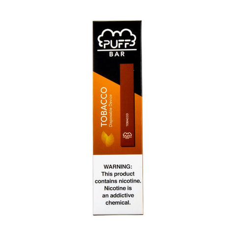 Puff - Puff Bar Disposable Pod Device Tobacco - Drops of Vapor