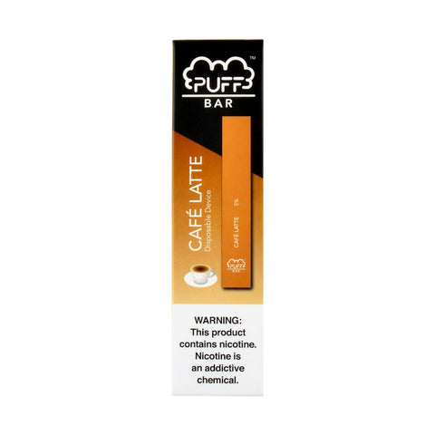 Puff - Puff Bar Disposable Pod Device Cafe Latte - Drops of Vapor