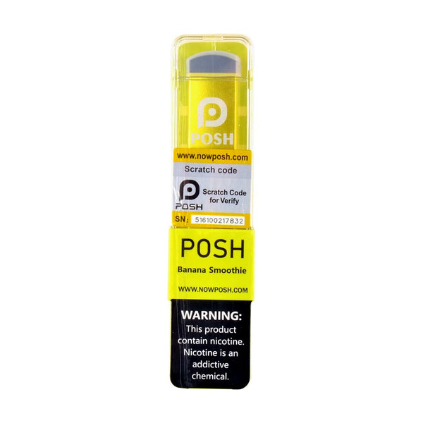 Fuma - Posh by Fuma Disposable Pod Device Banana Smoothie - Drops of Vapor