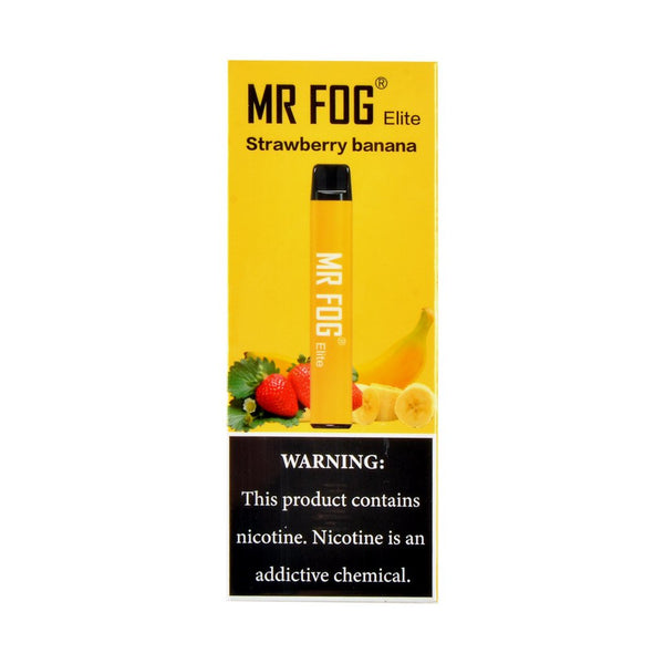 Mr Fog - Mr Fog Elite Disposable Pen Strawberry Banana - Drops of Vapor