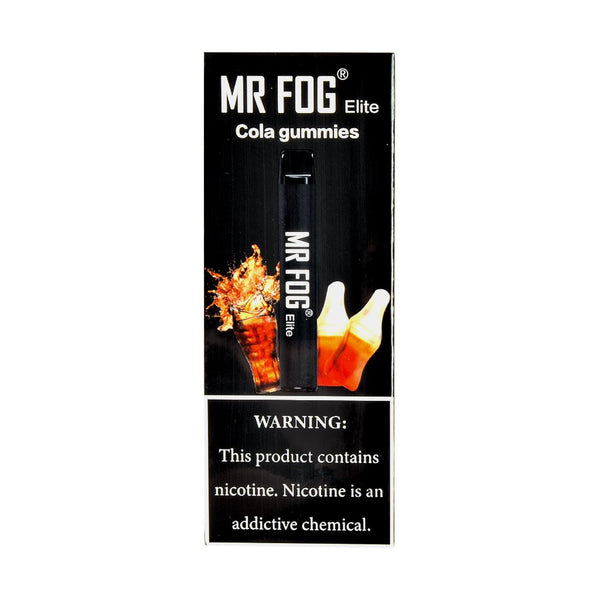 Mr Fog - Mr Fog Elite Disposable Pen Cola Gummies - Drops of Vapor