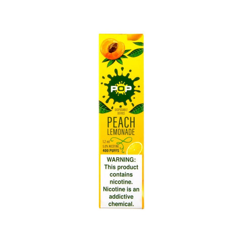 POP - POP Disposable Device Peach Lemonade - Drops of Vapor
