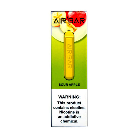 Air Bar - Air Bar Disposable Device Sour Apple - Drops of Vapor