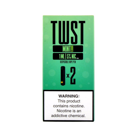 TWST - TWST Disposable Vape Pen Mint - Drops of Vapor