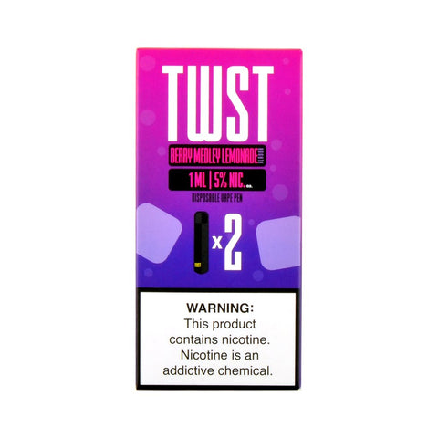 TWST - TWST Disposable Vape Pen Berry Medley Lemonade - Drops of Vapor
