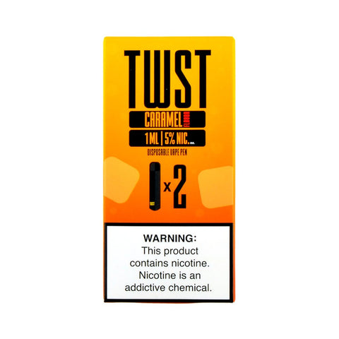 TWST - TWST Disposable Vape Pen Caramel - Drops of Vapor