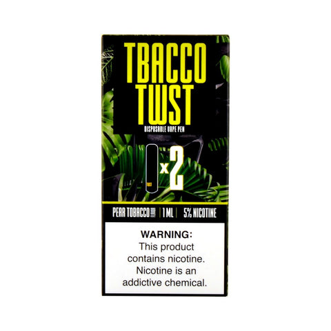 TWST - TWST Disposable Vape Pen Pear Tobacco - Drops of Vapor