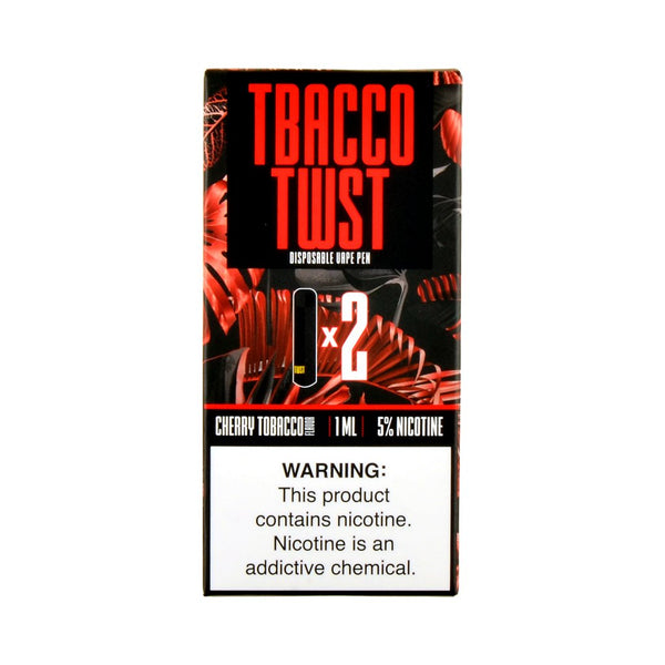 TWST - TWST Disposable Vape Pen Cherry Tobacco - Drops of Vapor